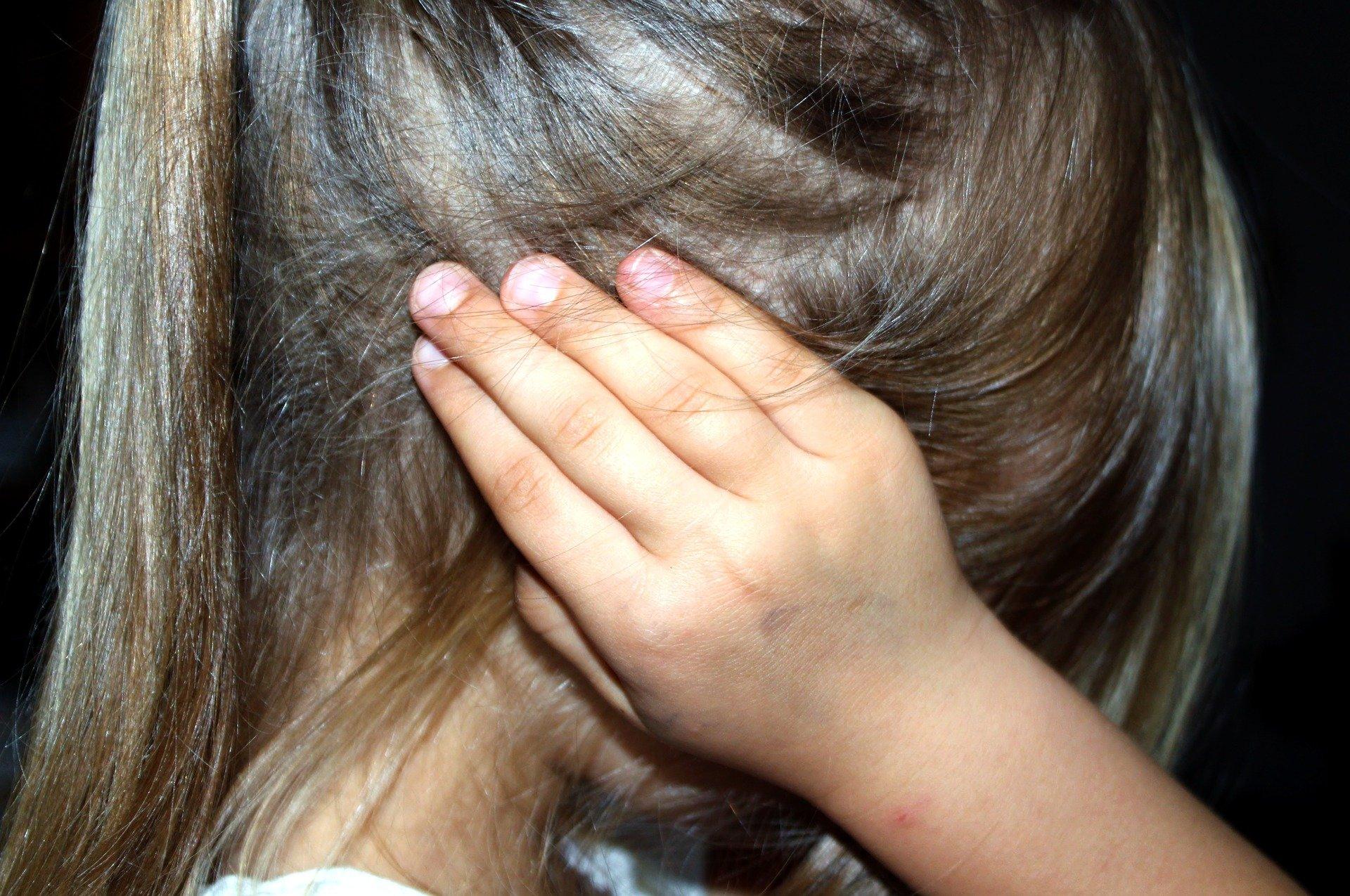Small child at Child Advocacy Center